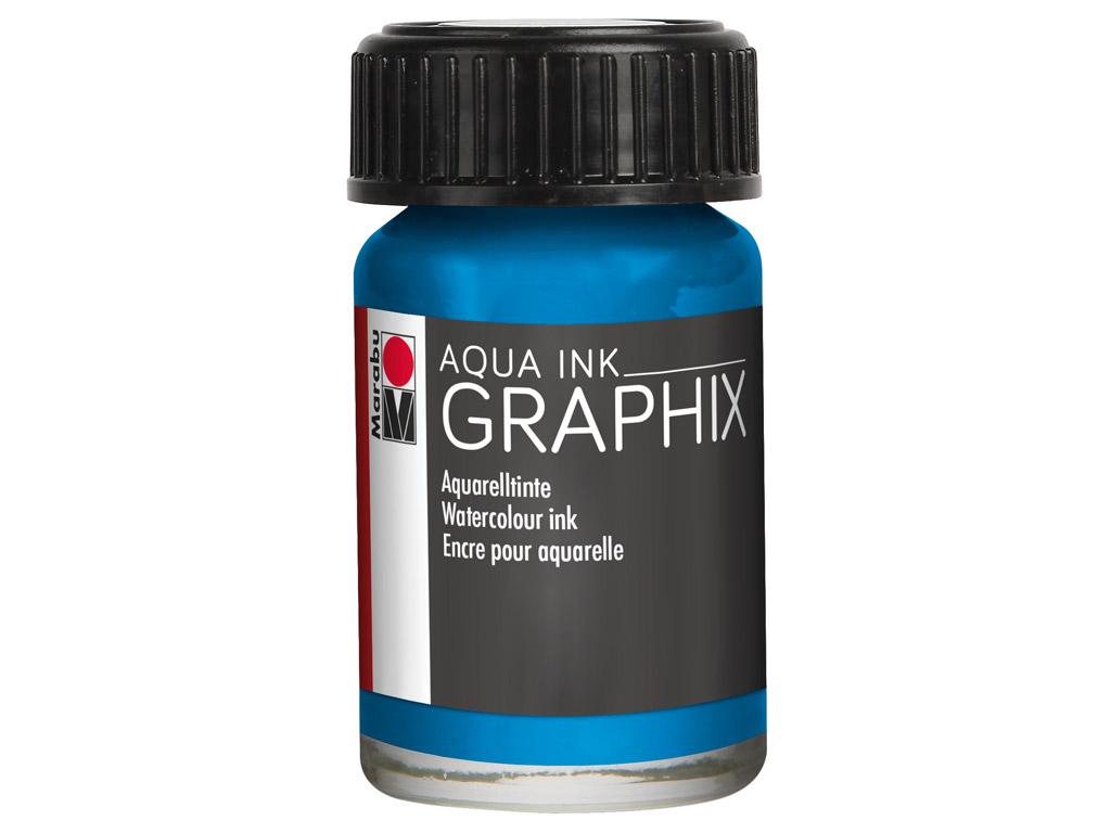 Akvarelltint Graphix 15ml 056 cyan