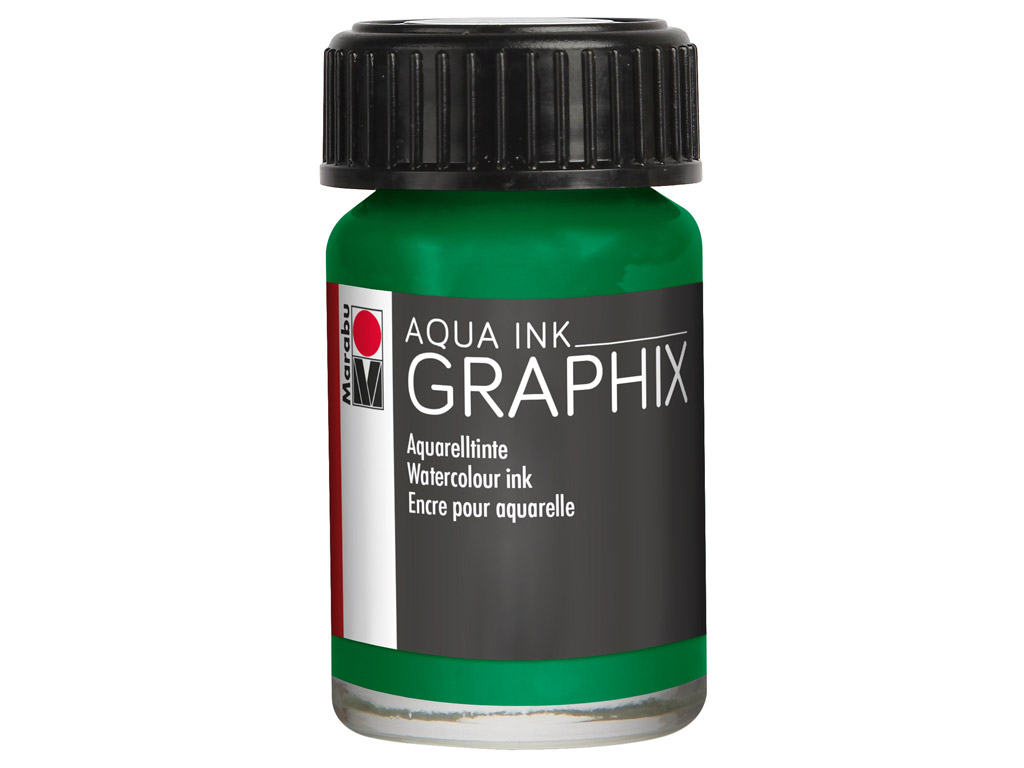 Akvareļu tinte Graphix 15ml 153 mint