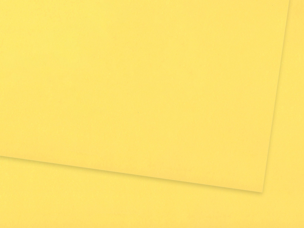 Krāsains papīrs Ursus A4/130g 12 lemon yellow