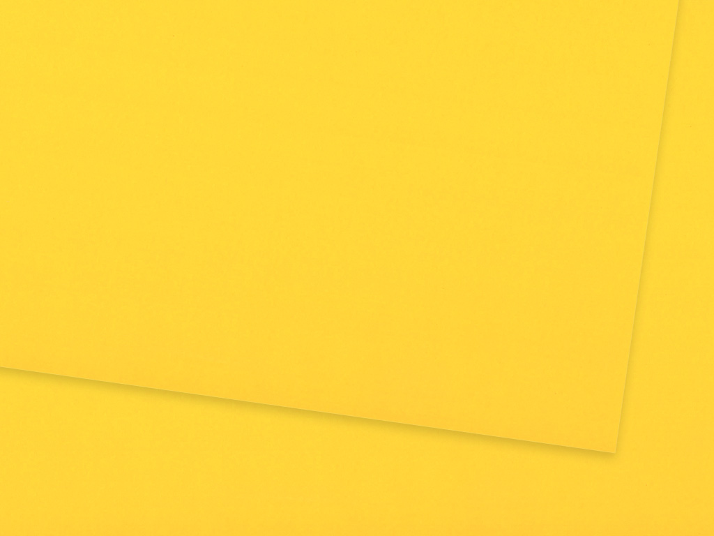 Krāsains papīrs Ursus A4/130g 15 sun yellow