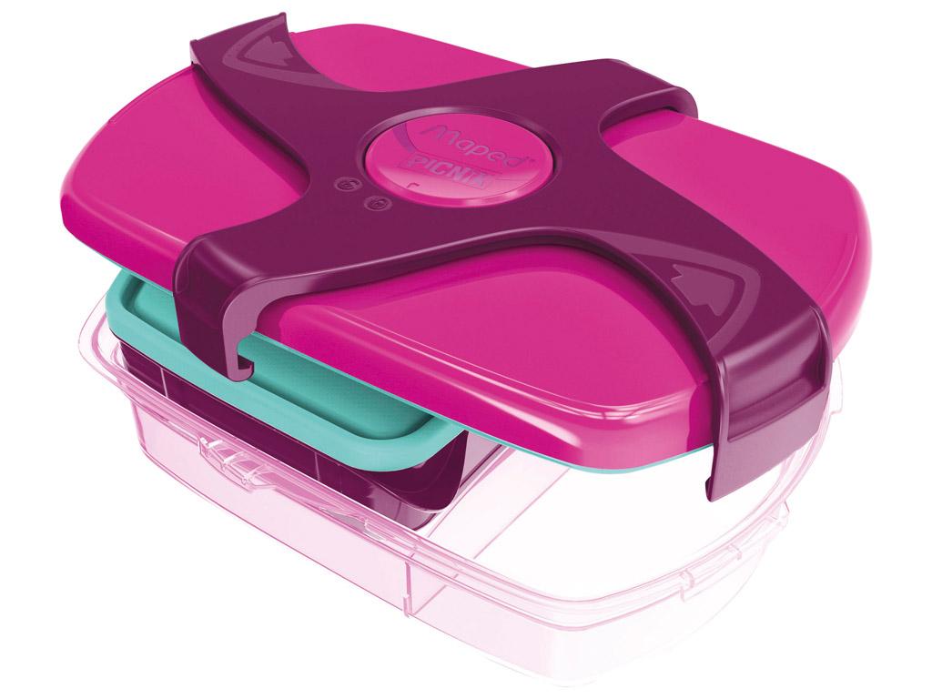 Toidukarp Maped Picnik Kids Concept 3 lahtriga 1.78l pink