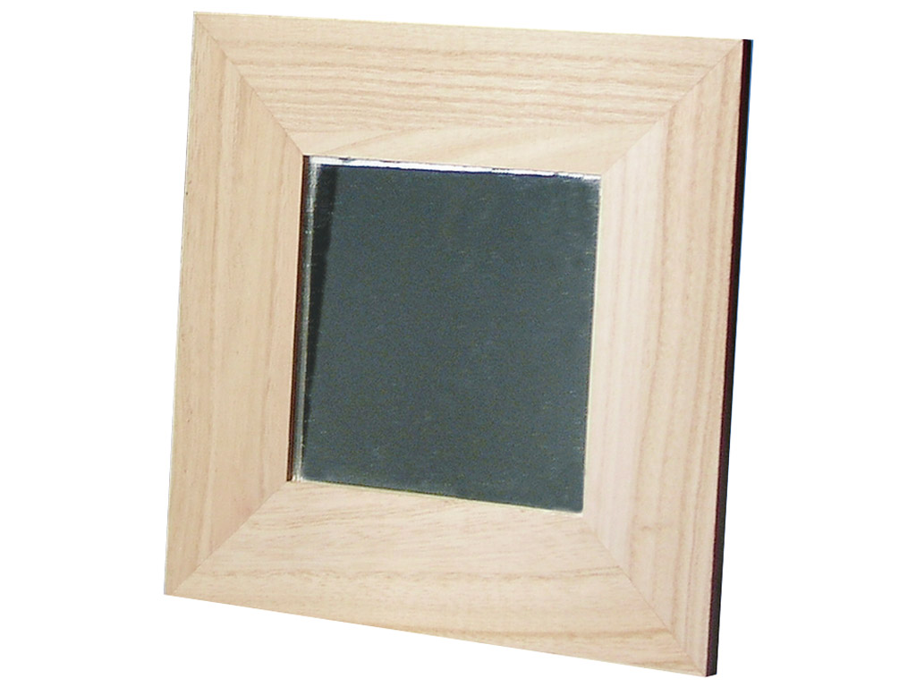 Raam puidust Rayher 22x22cm peegliga