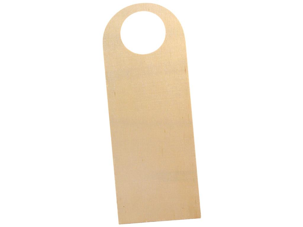 Ukselingi silt puidust Rayher 26x9.5cm