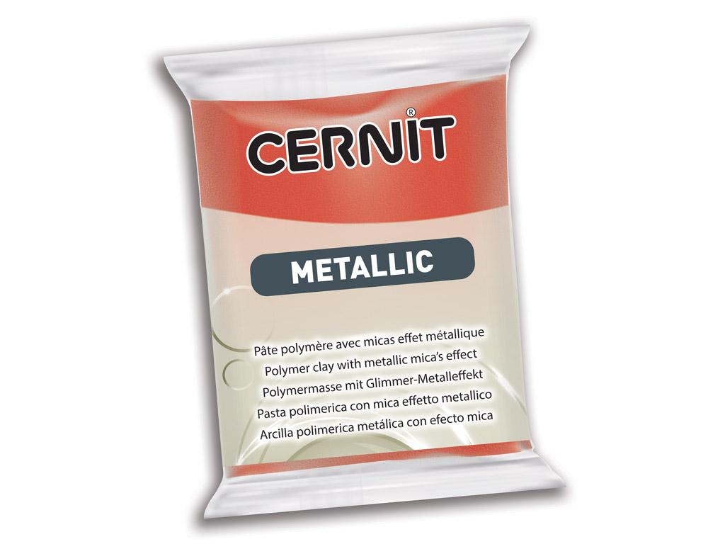 Polimērmāls Cernit Metallic 56g 057 copper