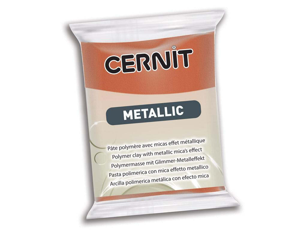 Polümeersavi Cernit Metallic 56g 058 bronze