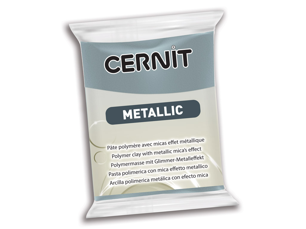 Polimērmāls Cernit Metallic 56g 167 steel