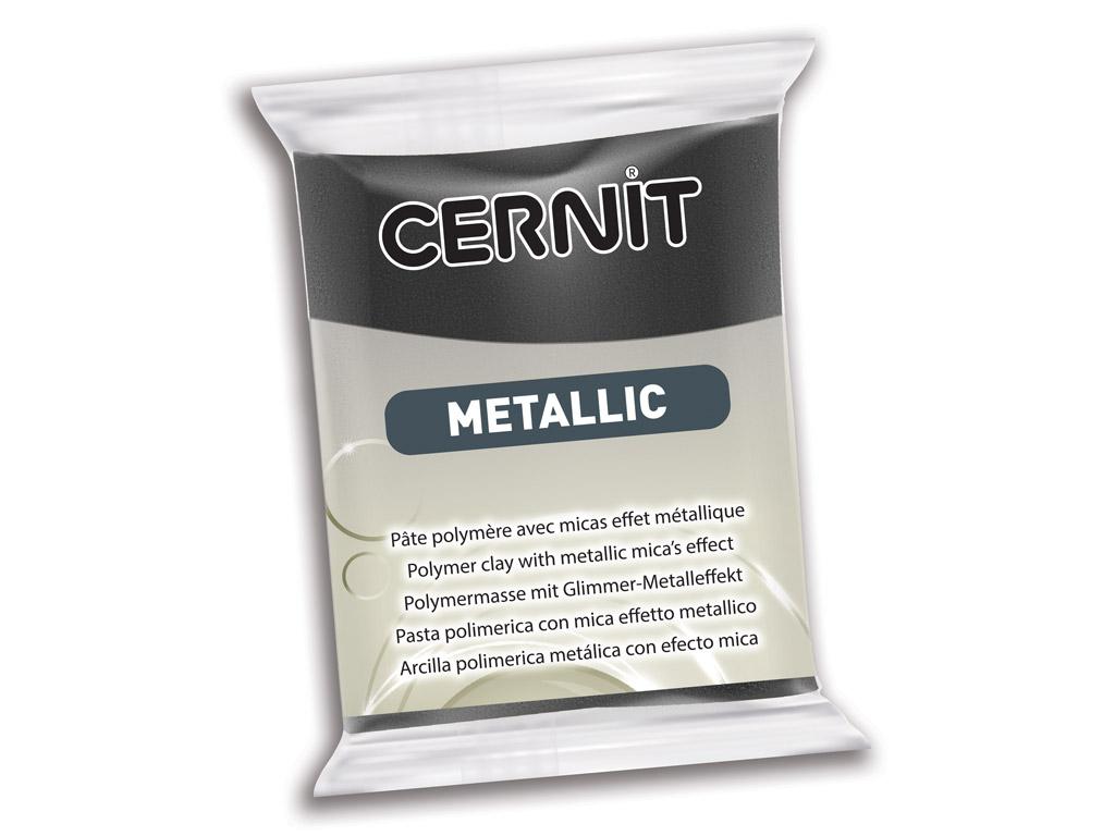 Polimērmāls Cernit Metallic 56g 169 hematite
