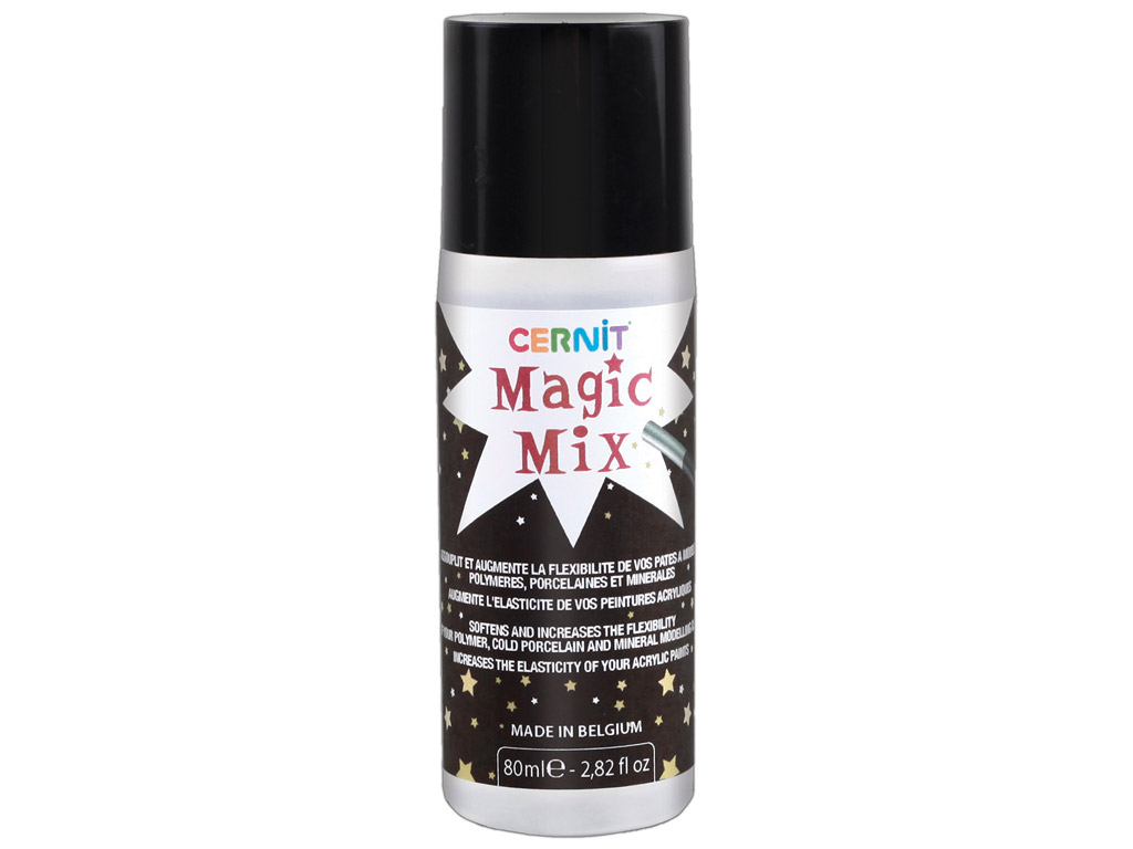 Polimerinio molio minkštiklis Cernit Magic Mix 80ml