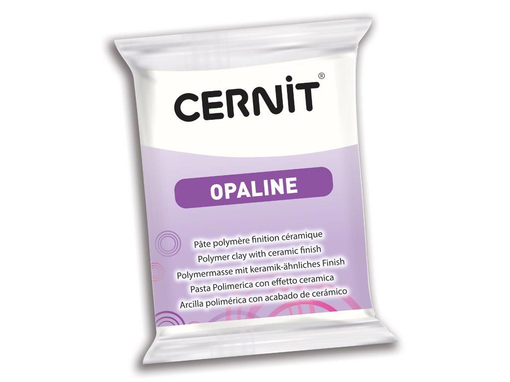 Polimērmāls Cernit Opaline 56g 010 white