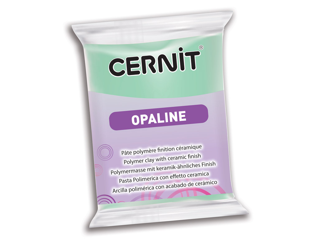Polimērmāls Cernit Opaline 56g 640 mint green
