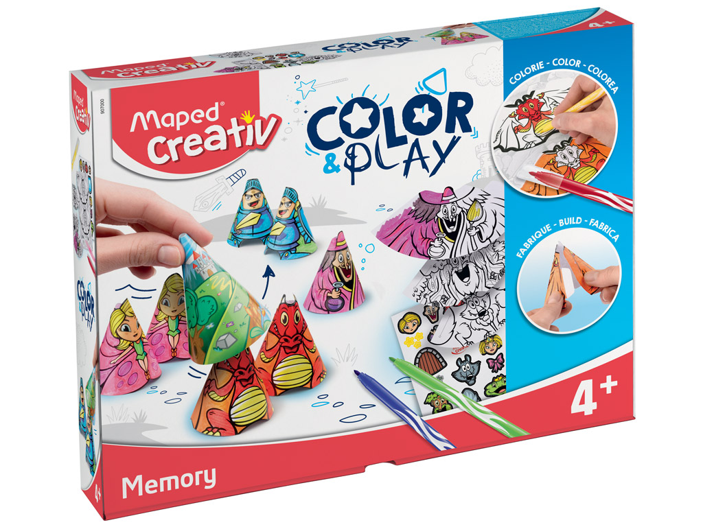 Meisterduskomplekt Maped Creativ Color&Play Memory
