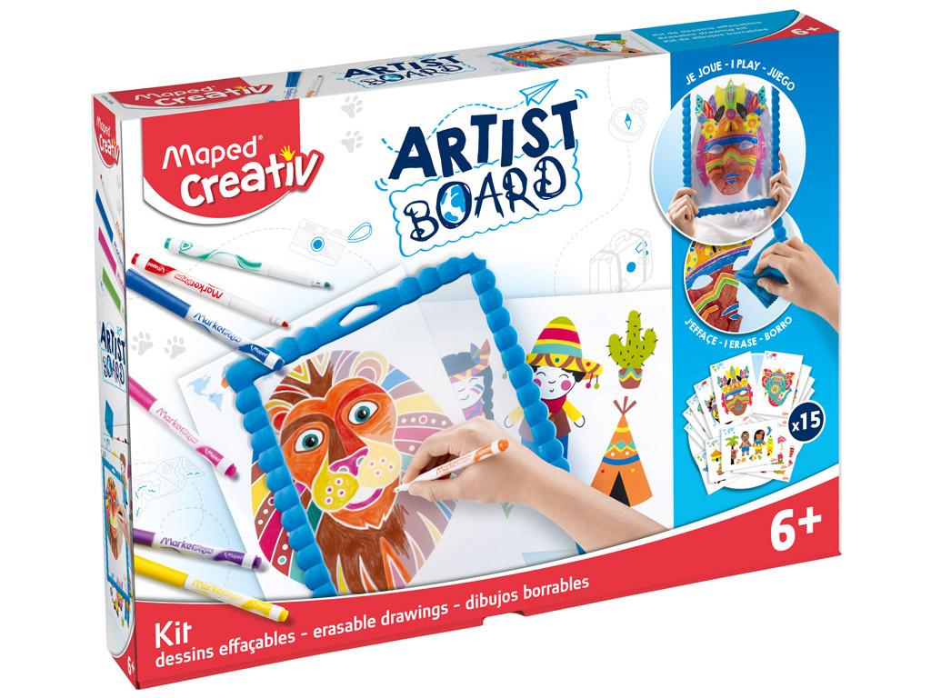 Joonistuskomplekt tahvliga Maped Creativ Artist Board