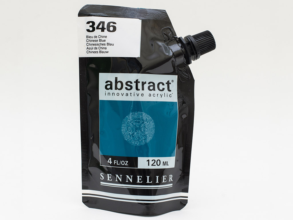 Acrylic colour Abstract 120ml 346 chinese blue
