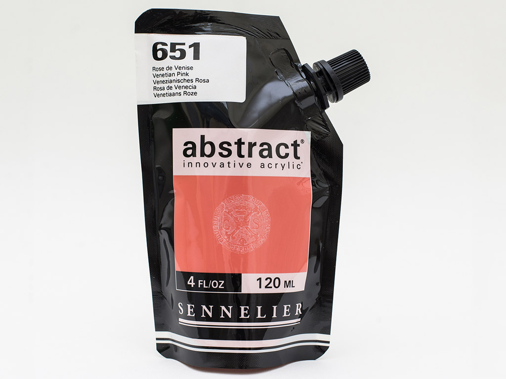 Acrylic colour Abstract 120ml 651 venetian pink