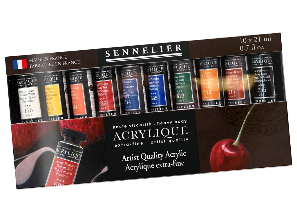 Akriliniai dažai Sennelier Artist 10x21ml