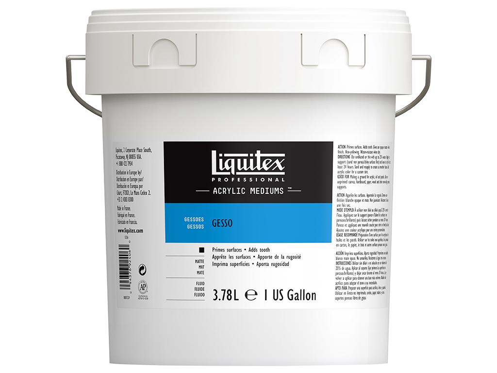 Gruntas Liquitex Gesso 3.78l balta