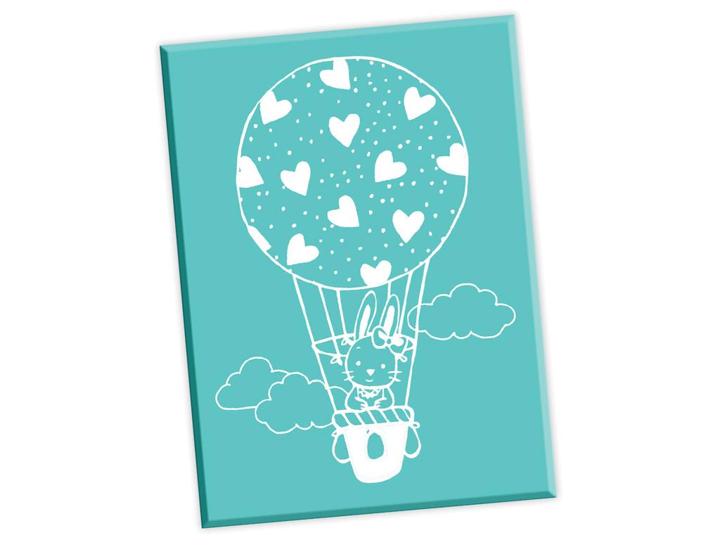 Koka zīmogs Aladine gaisa balons ar trusi 5.2x7cm