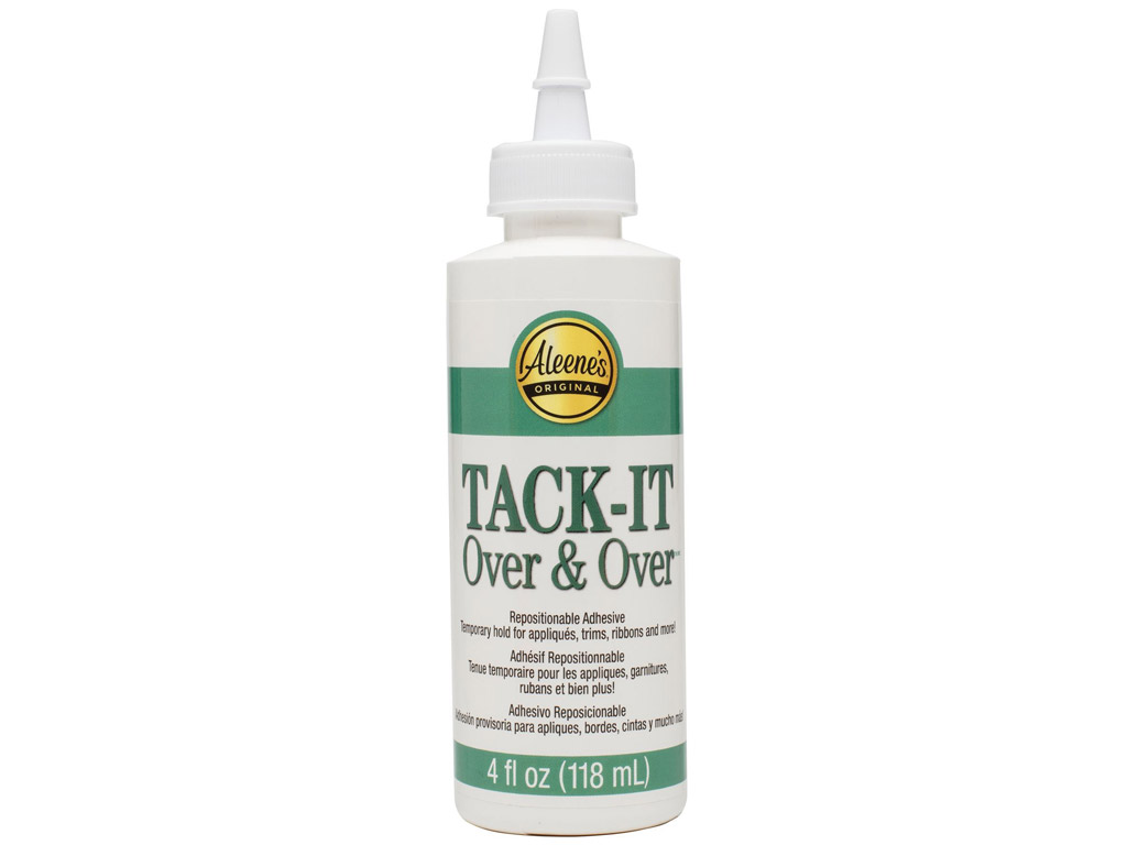Tekstiililiim Aleene's Tack-It Over&Over 118ml