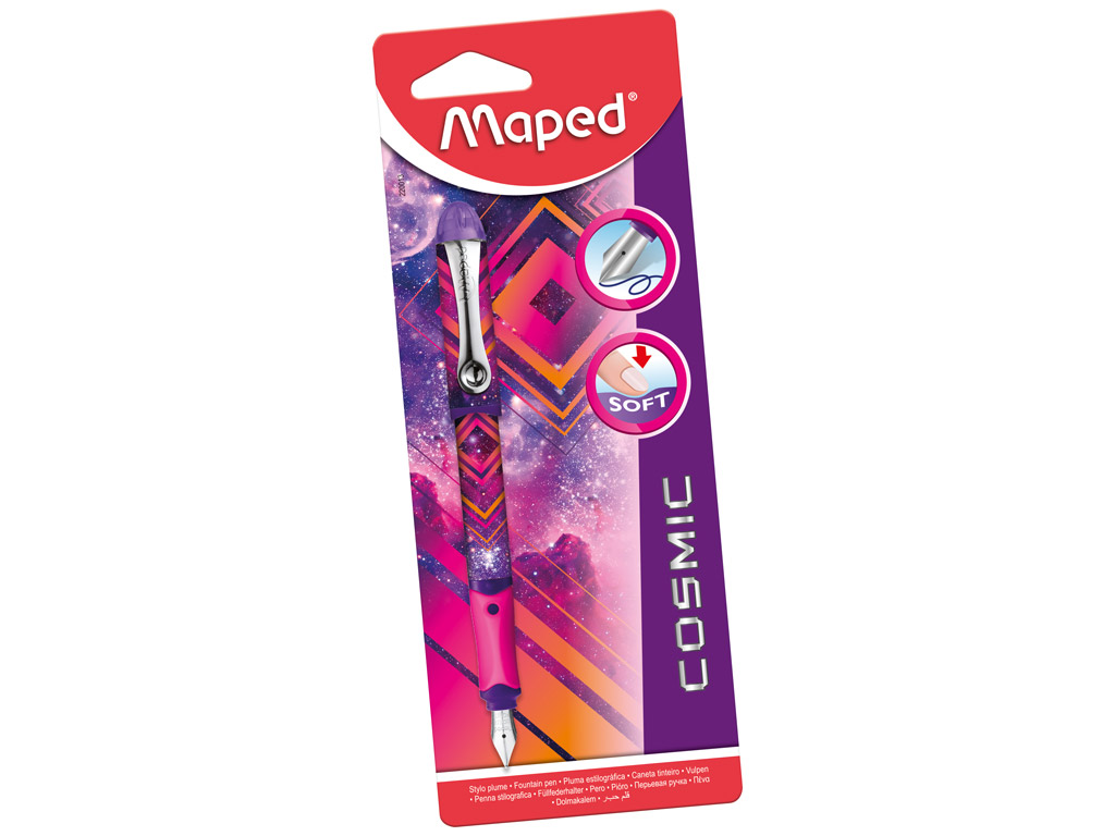 Parkeris Maped Cosmic Teens Pink blister