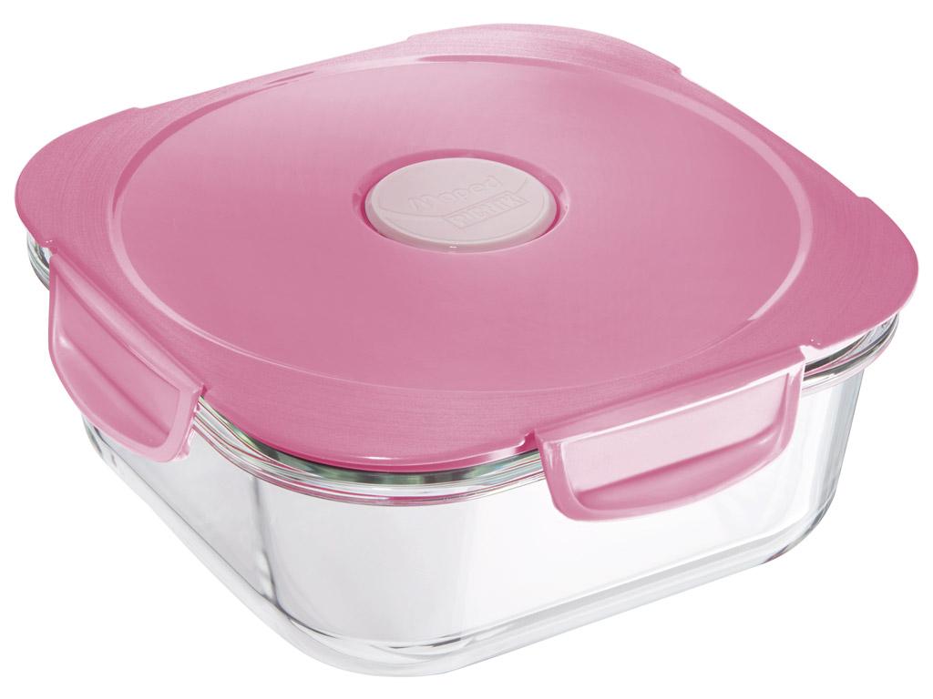 Toidukarp klaasist Maped Picnik Adult Concept 1.2l tender pink