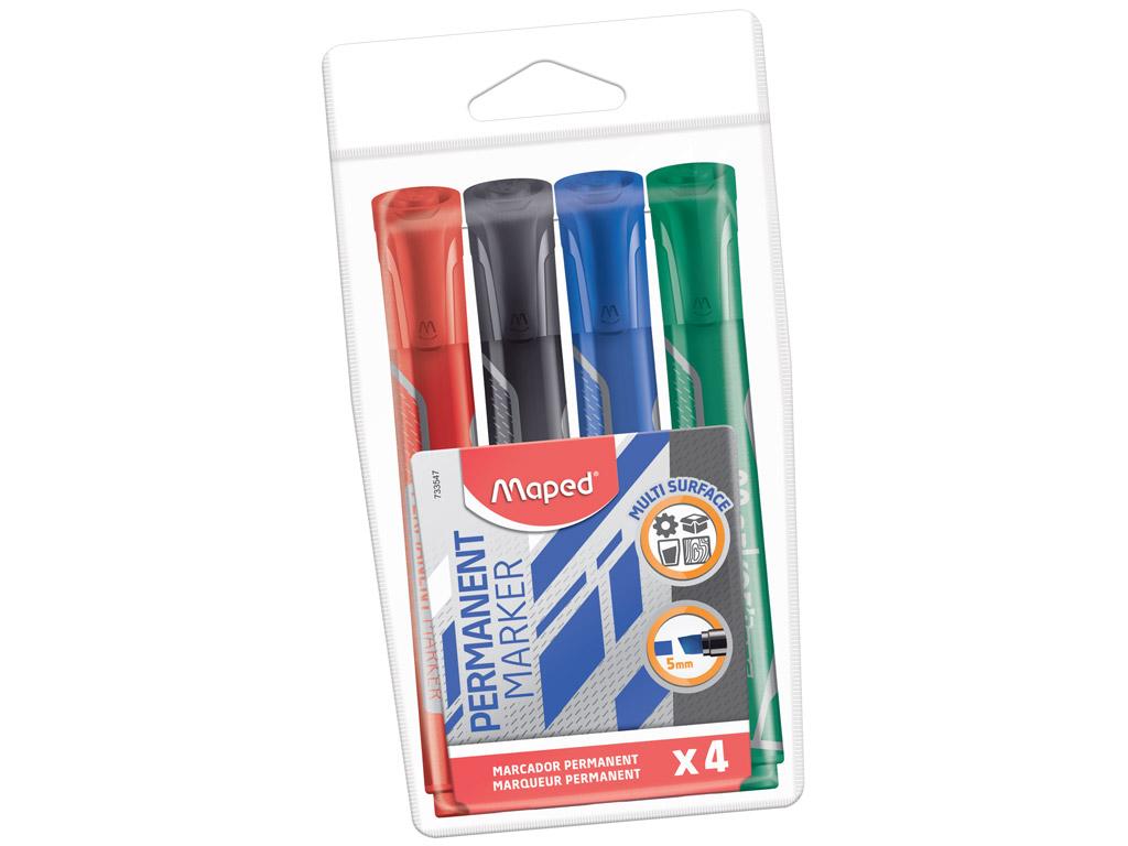 Marker MarkerPeps Jumbo C 1-5mm 4tk blistril