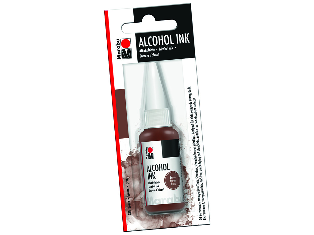 Alkoholitint Marabu 20ml 285 brown blistril