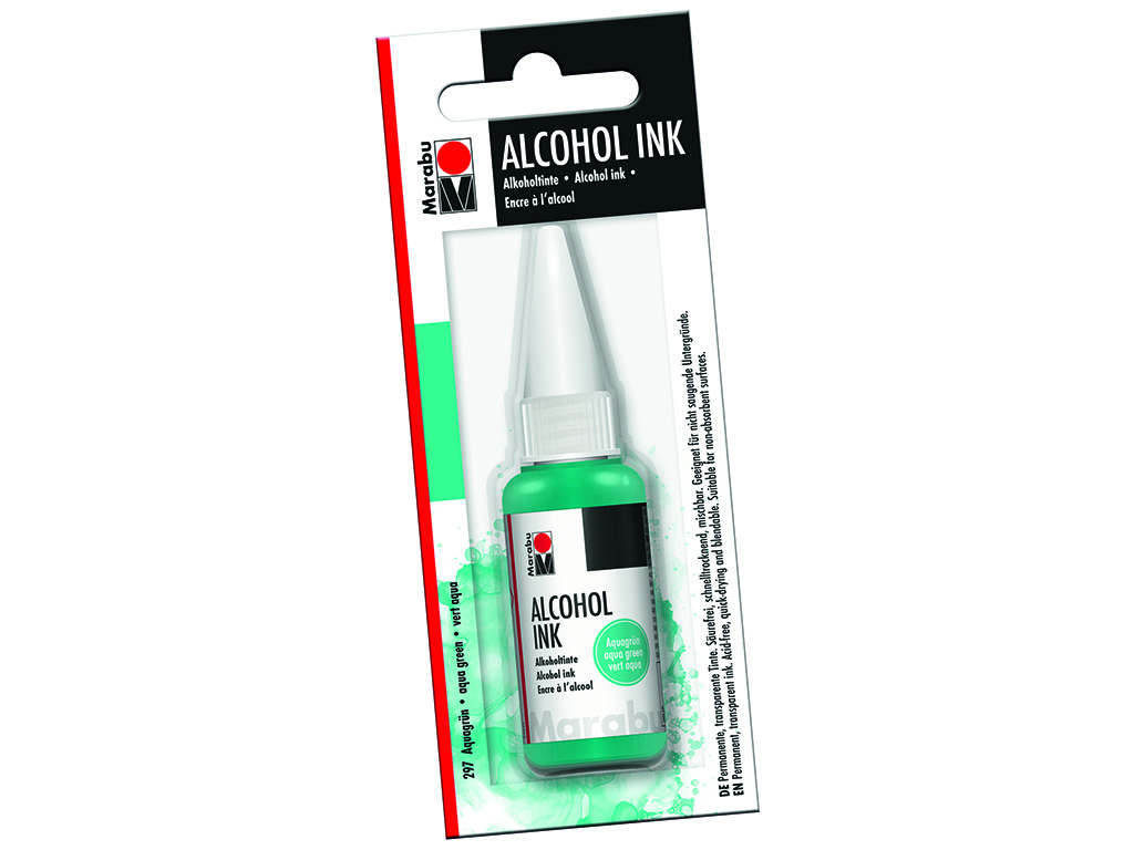 Alkoholitint Marabu 20ml 297 aqua green blistril