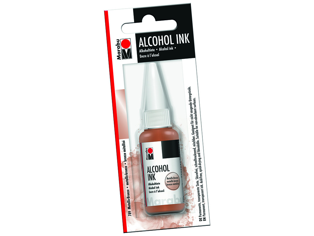 Alkoholitint Marabu 20ml 789 metallic-bronze blistril