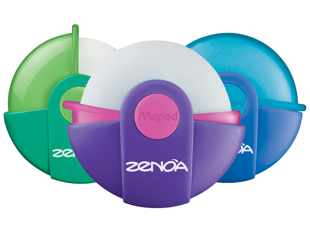 Eraser Maped Zenoa assorted