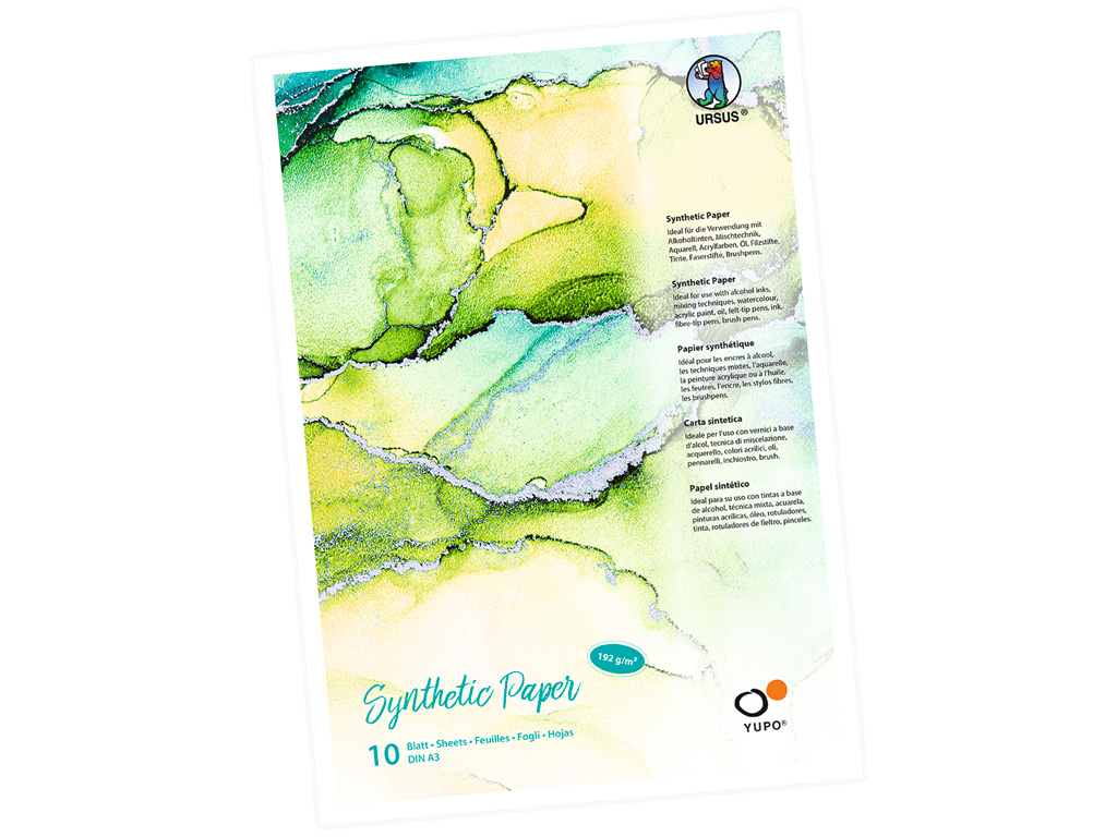 Synthetic paper pad Ursus Yupo A3/192g 10 sheets