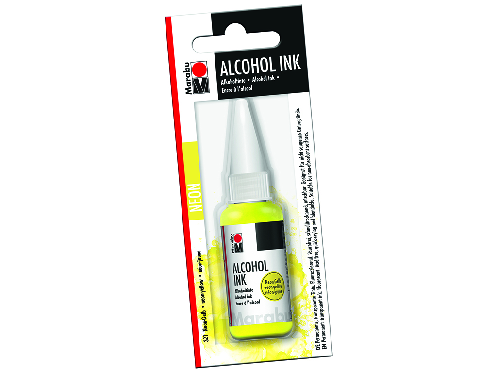 Alkoholitint Marabu 20ml 321 neon yellow