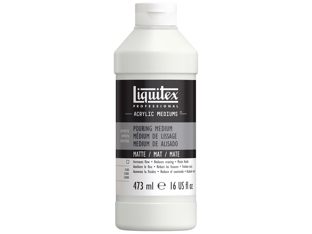 Akrüülvärvi meedium Liquitex Pouring Matte 473ml