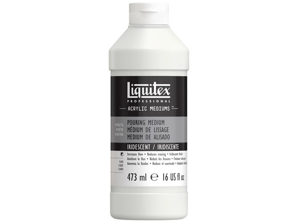 Akrüülvärvi meedium Liquitex Pouring Iridescent 473ml