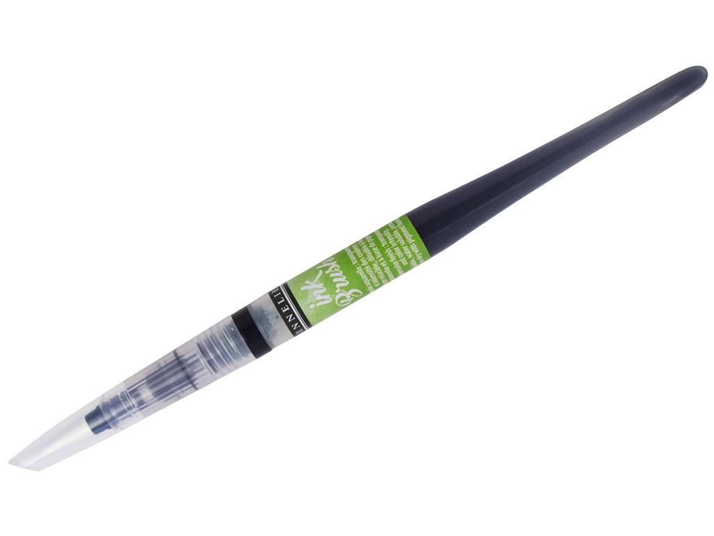 Tindipintsel Sennelier Ink Brush 6.5ml 805 yellowish green