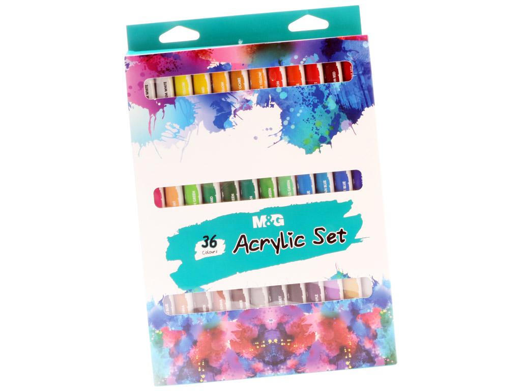 Akrila krāsa M&G 36x12ml
