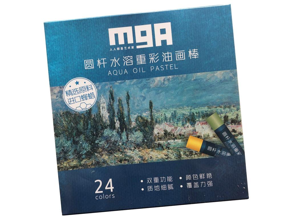 Aliejinė pastelė liejama M&G Arts 24vnt.