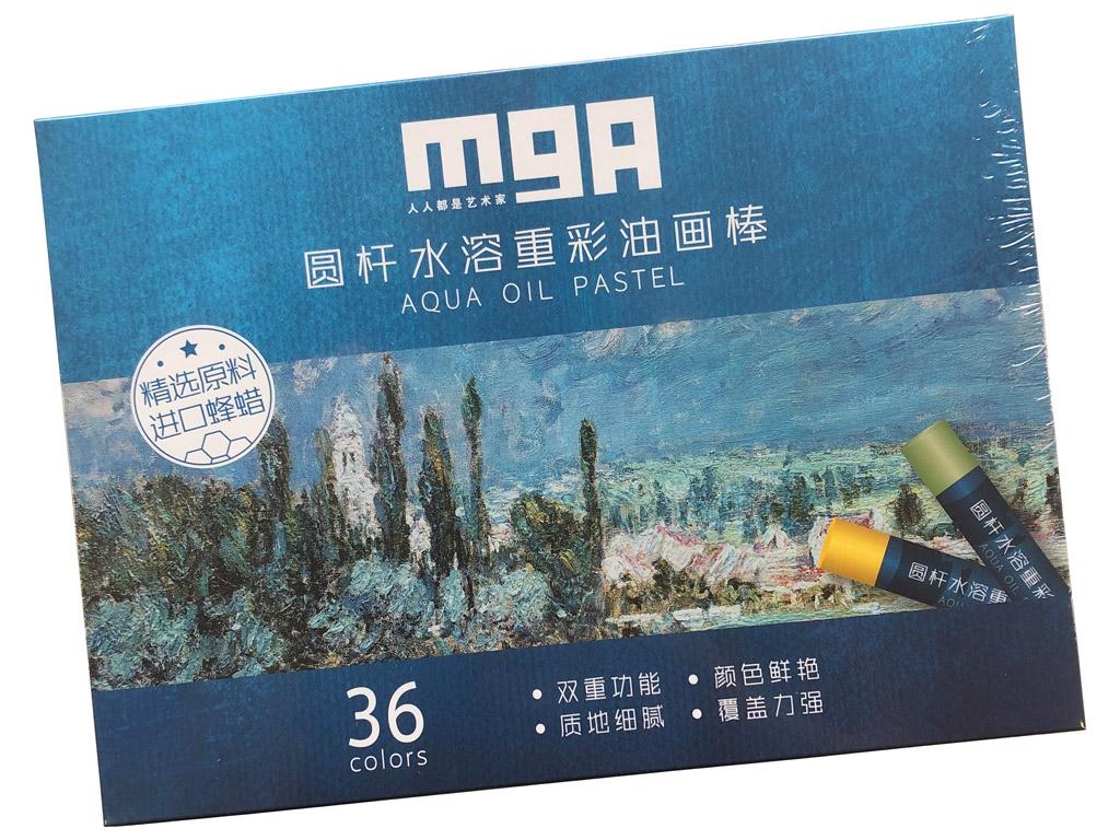 Aliejinė pastelė liejama M&G Arts 36vnt.