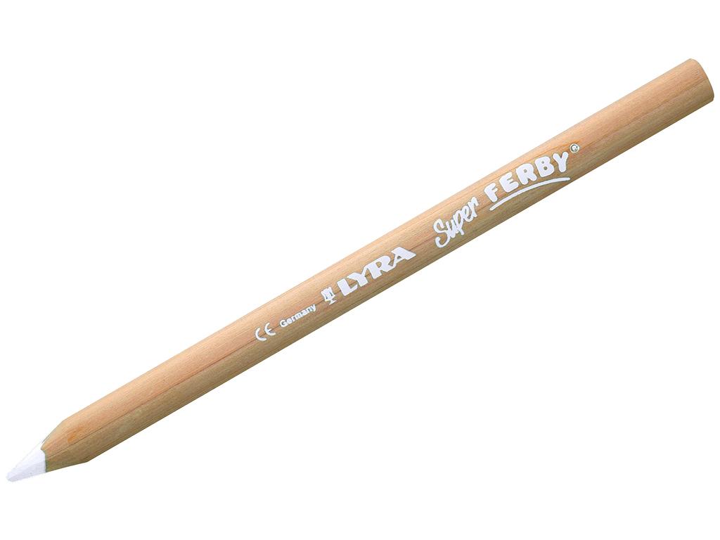 Spalvotas pieštukas Lyra Super Ferby Nature White