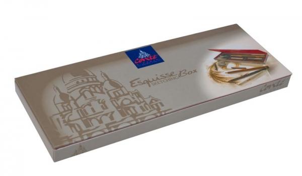 Eskiisipliiatsite komplekt Conte a Paris Sketching Studio Box