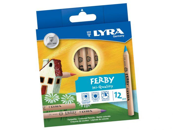 Värvipliiats Lyra Ferby Nature - 1/2