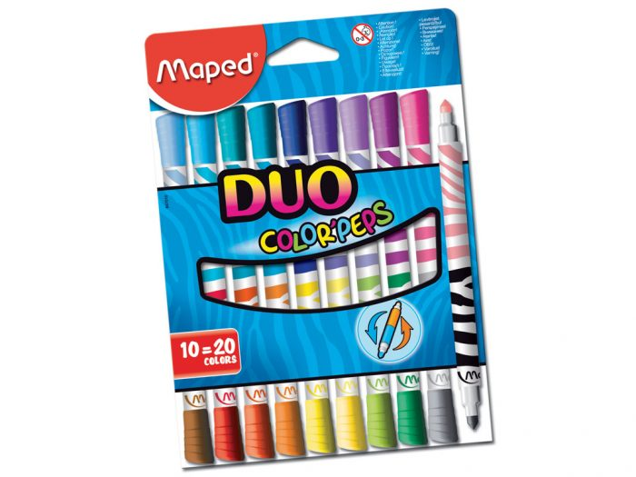 Viltpliiats Maped Color'Peps Duo - 1/2