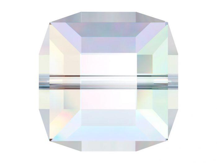 Kristallhelmes Swarovski kuubik 5601 6mm - 1/2