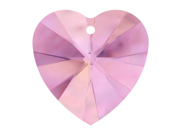 Crystal Pendant Swarovski heart 6228 14.4x14mm - 1/2