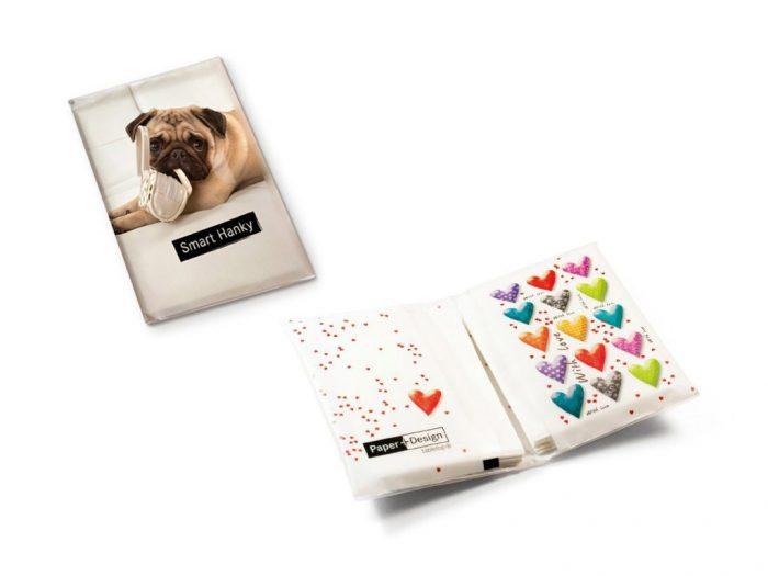 Taskurätikud Paper+Design Smart Hanky - 1/2