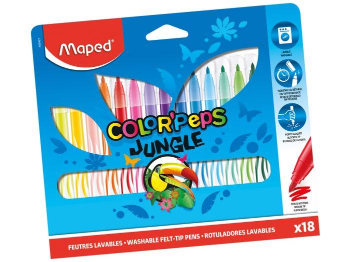 Viltpliiats Maped Color'Peps Jungle - 1/2