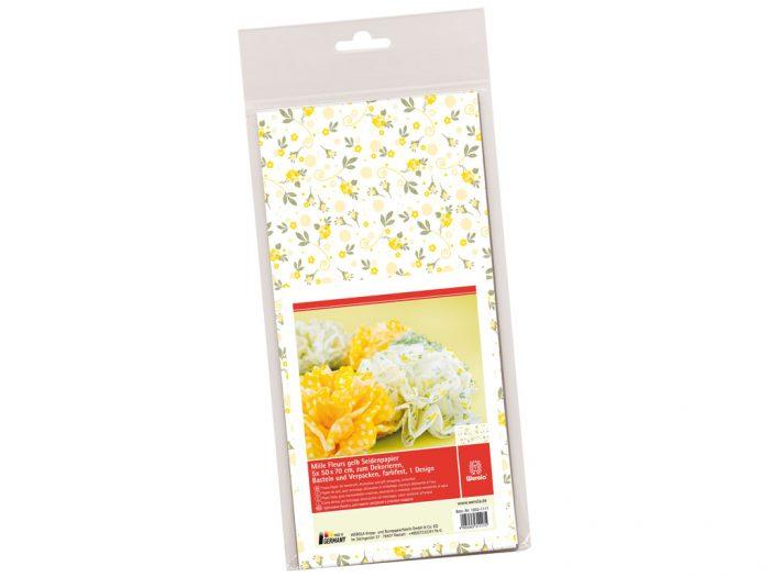 Siidipaber Mille Fleurs 50x70cm