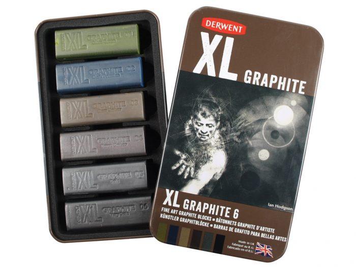 Grafiitpulk Derwent XL metallkarbis - 1/3