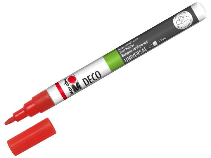 Marker Marabu Deco 1-2mm - 1/6