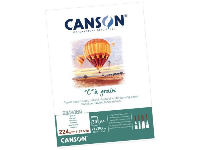 Joonistusplokk Canson C a Grain