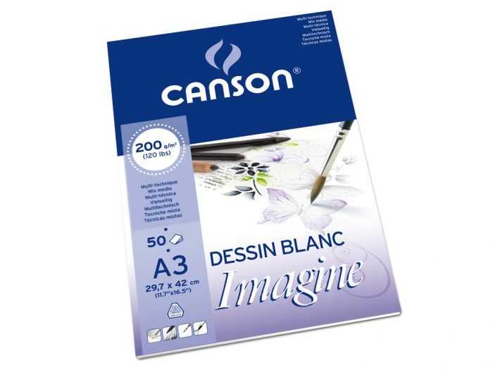 Joonistusplokk Canson Imagine